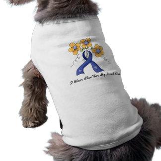 Ii Wear Blue For My Loved One Pet Shirt