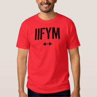 IIFYM - si cabe sus macros Camisas