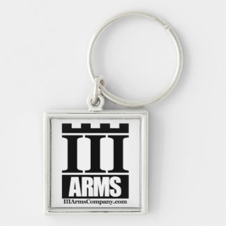 III Arms - small keychain ring