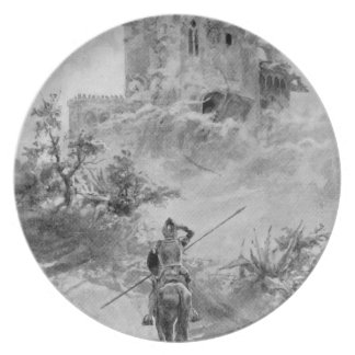 III Centenario-Don Quijote de José Jiménez Aranda Plato