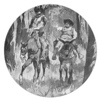 III Centenario-Don Quijote de José Jiménez Aranda Plato De Cena