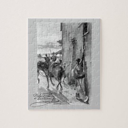 III Centenario-Don Quixote by José Jiménez Aranda Jigsaw Puzzle