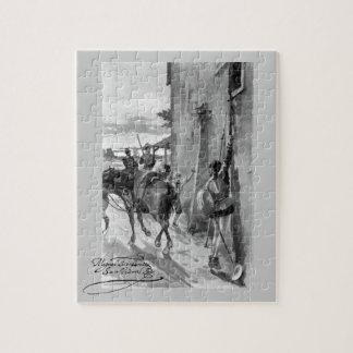 III Centenario-Don Quixote by José Jiménez Aranda Puzzle