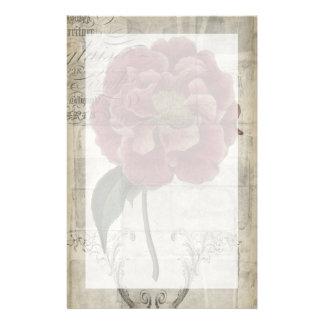 III floral francés Papeleria Personalizada