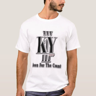III KY 107 - Down For The Count T-Shirt