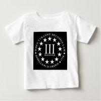 iii percent t shirts shirt designs zazzle. Black Bedroom Furniture Sets. Home Design Ideas