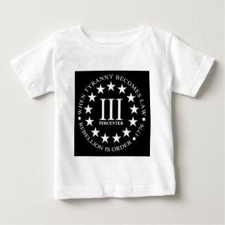 III-Percent-black.png Baby T-Shirt