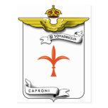 III Squadriglia Caproni, Italia Postales
