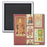 III The Empress 2 Inch Square Magnet