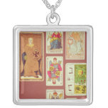 III The Empress Square Pendant Necklace