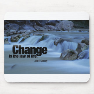Iinspirational Quote, John F. Kennedy Mouse Pad