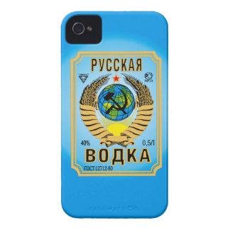 iiPhone divertido Cas de la vodka de la marca de Funda Para iPhone 4