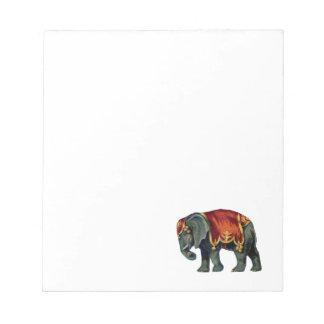 iIustração viejo del elefante del circo Blocs