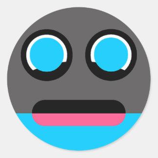 Iizo-Goy Clupkitz Character Study Classic Round Sticker