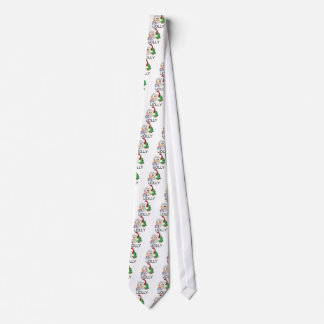 iJOLLY Santa Claus Spreads Happiness Neck Tie