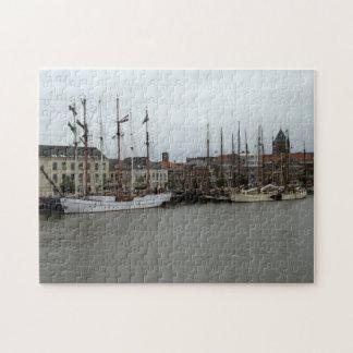 IJssel River, Kampen Jigsaw Puzzle