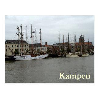 IJssel River, Kampen Postcard