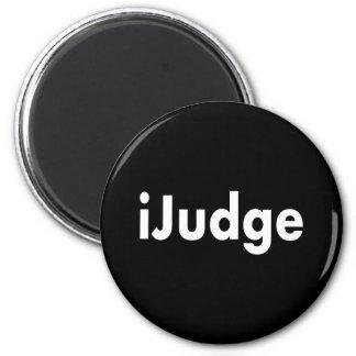 iJudge 2 Inch Round Magnet