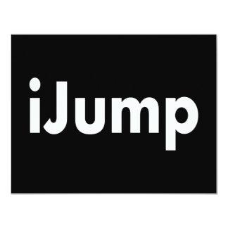 """iJump Invitación 4.25"""" X 5.5"""""""