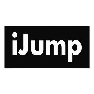 iJump Photo Greeting Card