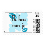 Ik hou van je - Dutch - I love you Stamp