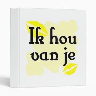 Ik hou van je - holandés - te amo