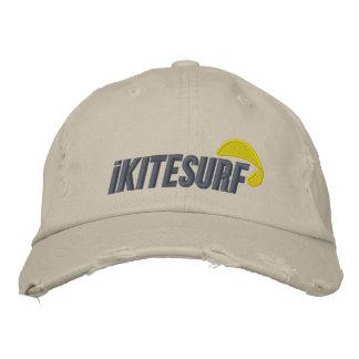 iK Tan Distressed Hat