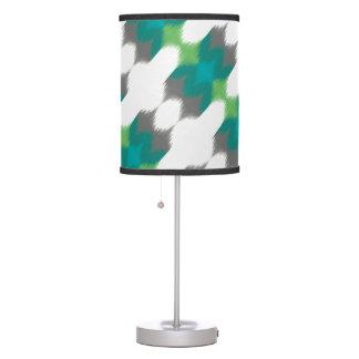 Ikat 001 Lime & Gray Desk Lamps