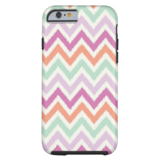 Ikat Chevron iPhone 6 case - Teal Coral