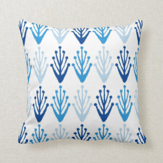 Ikat Design #11 @ Emporio Moffa Throw Pillow