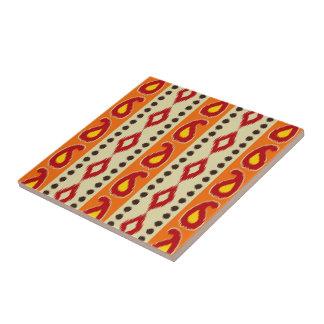 Ikat Design #4 @ Emporio Moffa Ceramic Tile
