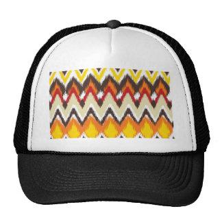iKat Inspired Fall Autumn Colors Pattern Trucker Hat