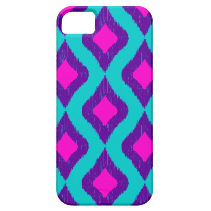 Ikat Inspired Pattern iPhone SE/5/5s Case