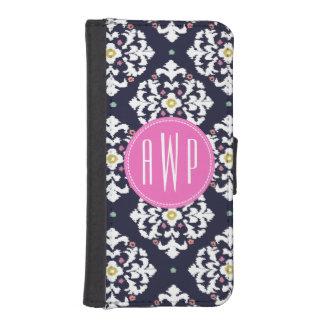 Ikat Monogram iPhone 5/5S Wallet Case Phone Wallet