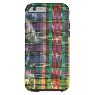 Ikat multicolor funda para iPhone 6 tough