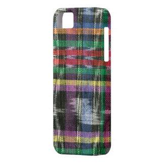 Ikat multicolor iPhone 5 carcasas