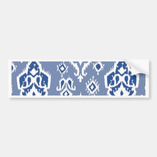 Ikat Tribal Diamond Pattern Bumper Sticker