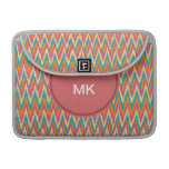 iKat Zigzag Design Spice Colors Sleeves For MacBooks