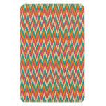 iKat Zigzag Design Spice Colors Rectangle Magnets