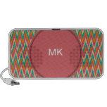 iKat Zigzag Design Spice Colors Speaker