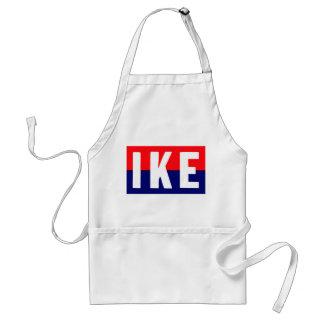 Ike 1952 para el presidente delantales