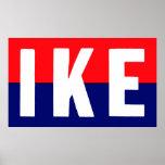 Ike 1952 para el presidente impresiones