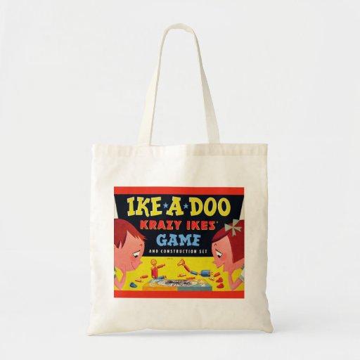 Ike-A-Doo de Krazy Ike retro del juguete del kitsc Bolsa