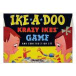 Ike-A-Doo de Krazy Ike retro del juguete del kitsc Felicitacion
