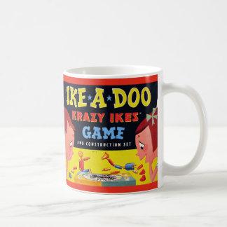 Ike-A-Doo de Krazy Ike retro del juguete del kitsc Tazas