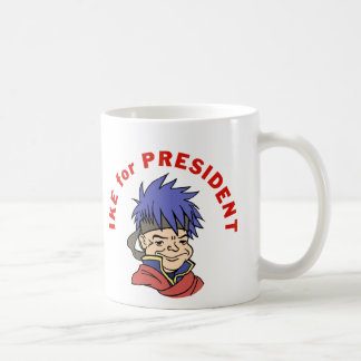 Ike para el presidente taza