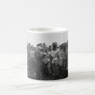 Ike Talking With Airborne On D-Day Coffee Mug