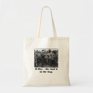 Ike WWII, D-Day Tote Bag