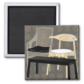 Ikea Furniture Chairs Brown Magnet
