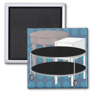 Ikea Furniture Tables Blue Magnet